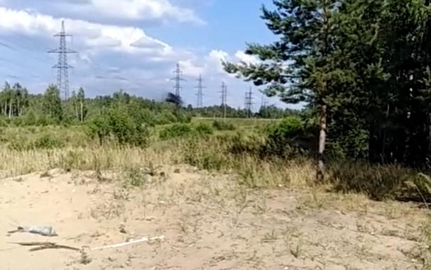 Легкомоторный самолёт потерпел крушение под Дзержинском (ВИДЕО)