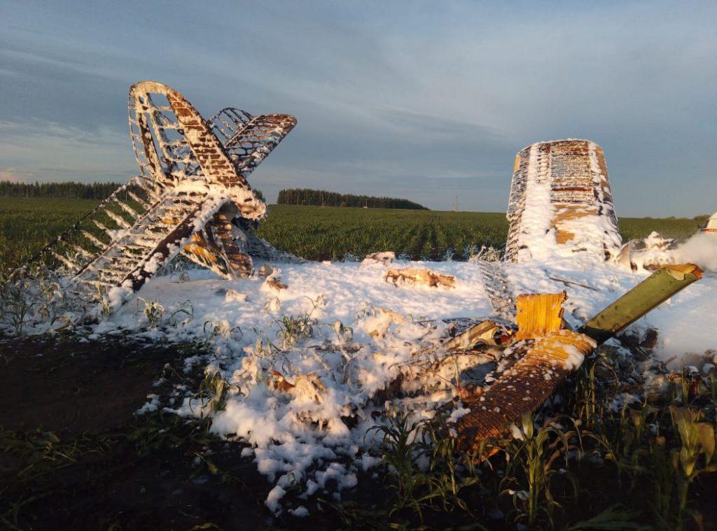 На самолёт, разбившийся в Кстовском районе, не было сертификата годности