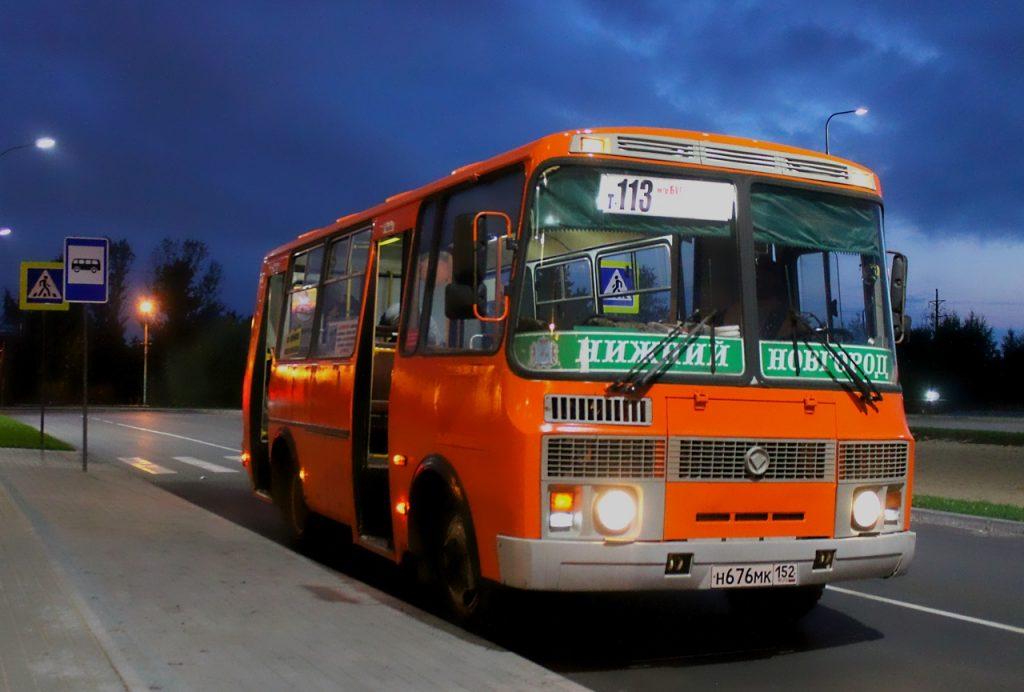 Нижегородский перевозчик отказывается от маршрута Т-113