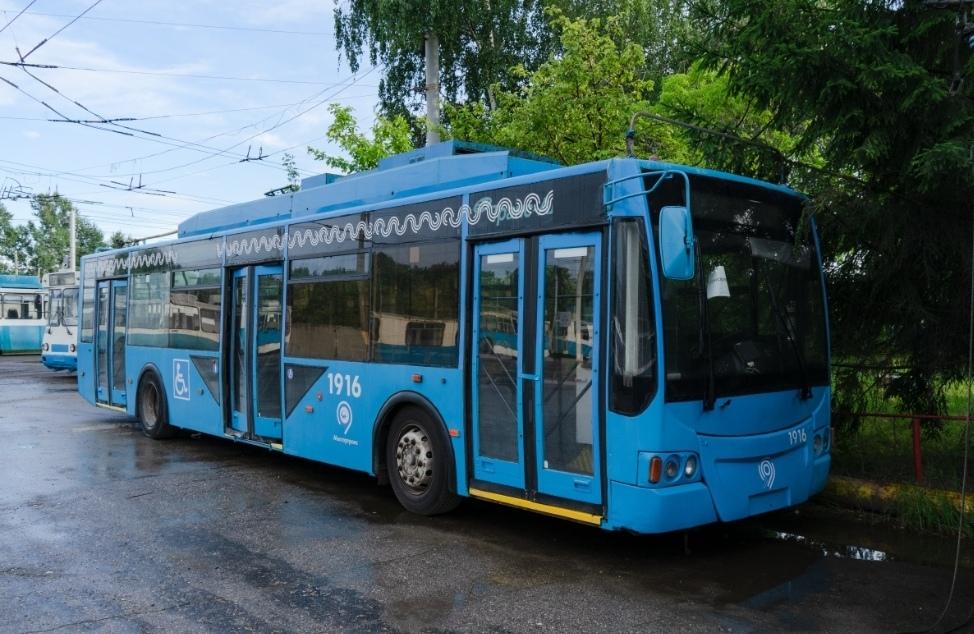 30 троллейбусов прибыли в Нижний Новгород из Москвы