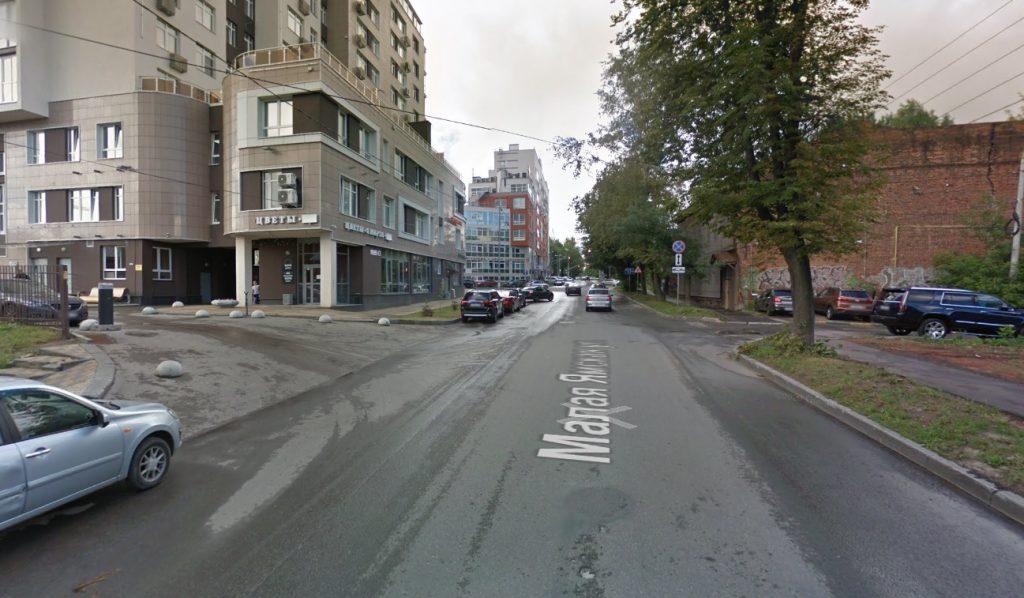 Два пешеходных перехода оборудовали на улице Малой Ямской в Нижнем Новгороде