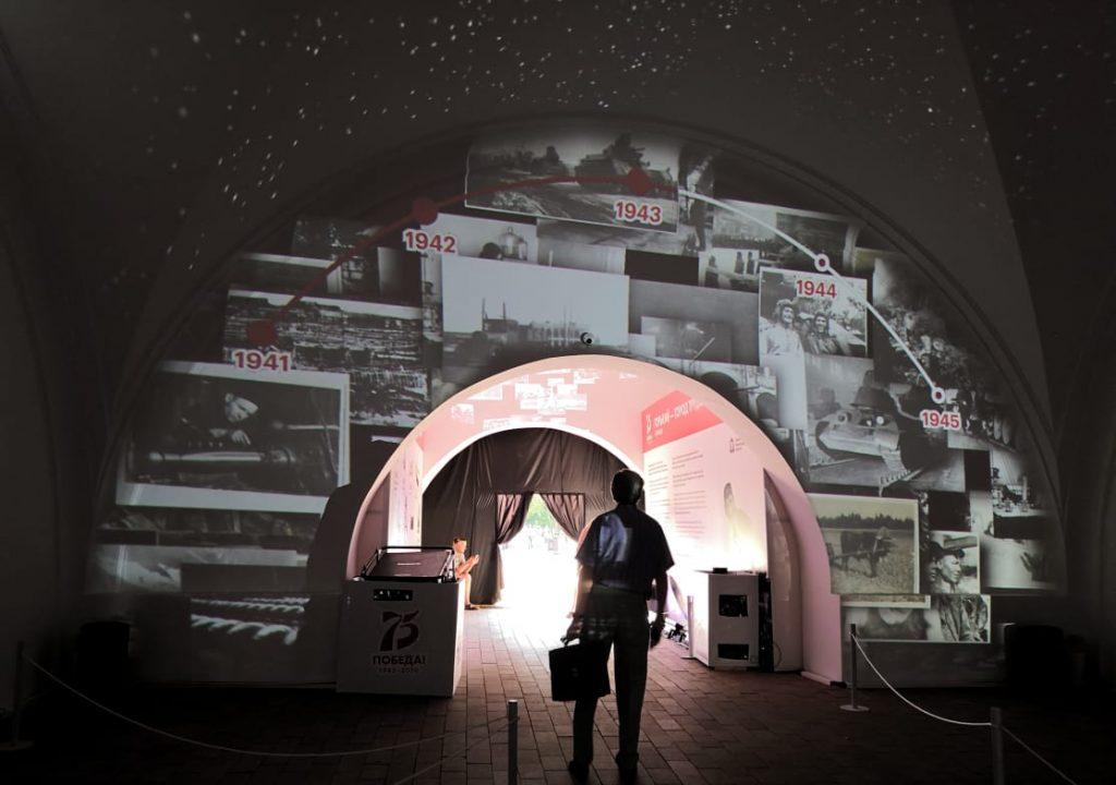 Нижегородцы смогут увидеть до12июля мультимедийную выставку «Горький— город трудовой доблести»