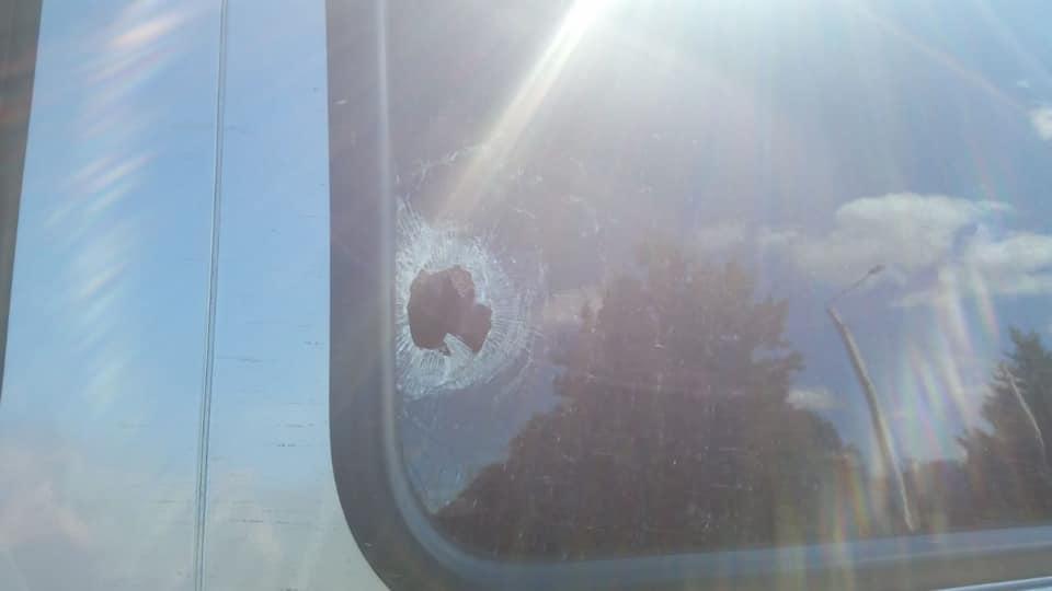 Машину с командой нижегородских воздухоплавателей расстреляли на Борском кольце