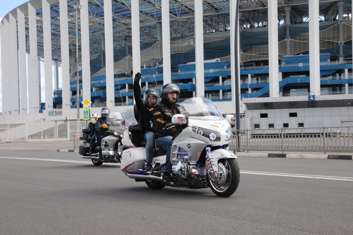 мотоциклы, байкеры, Ночные волки, мотопробег, День города 2020