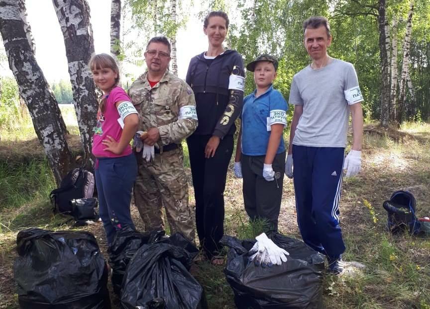 Нижегородские экоинспекторы ликвидировали несанкционированную свалку на территории памятника природы