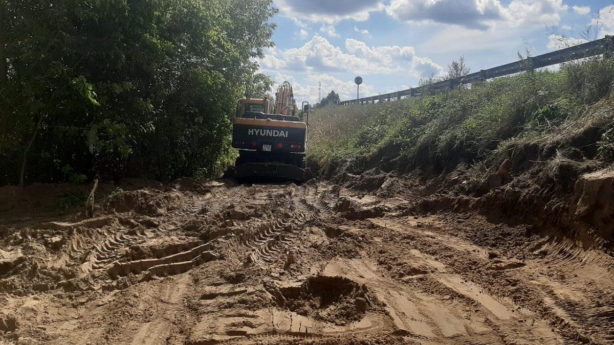 Движение грузового транспорта наподъезде к городу Навашино ограничат с28сентября (СХЕМА)