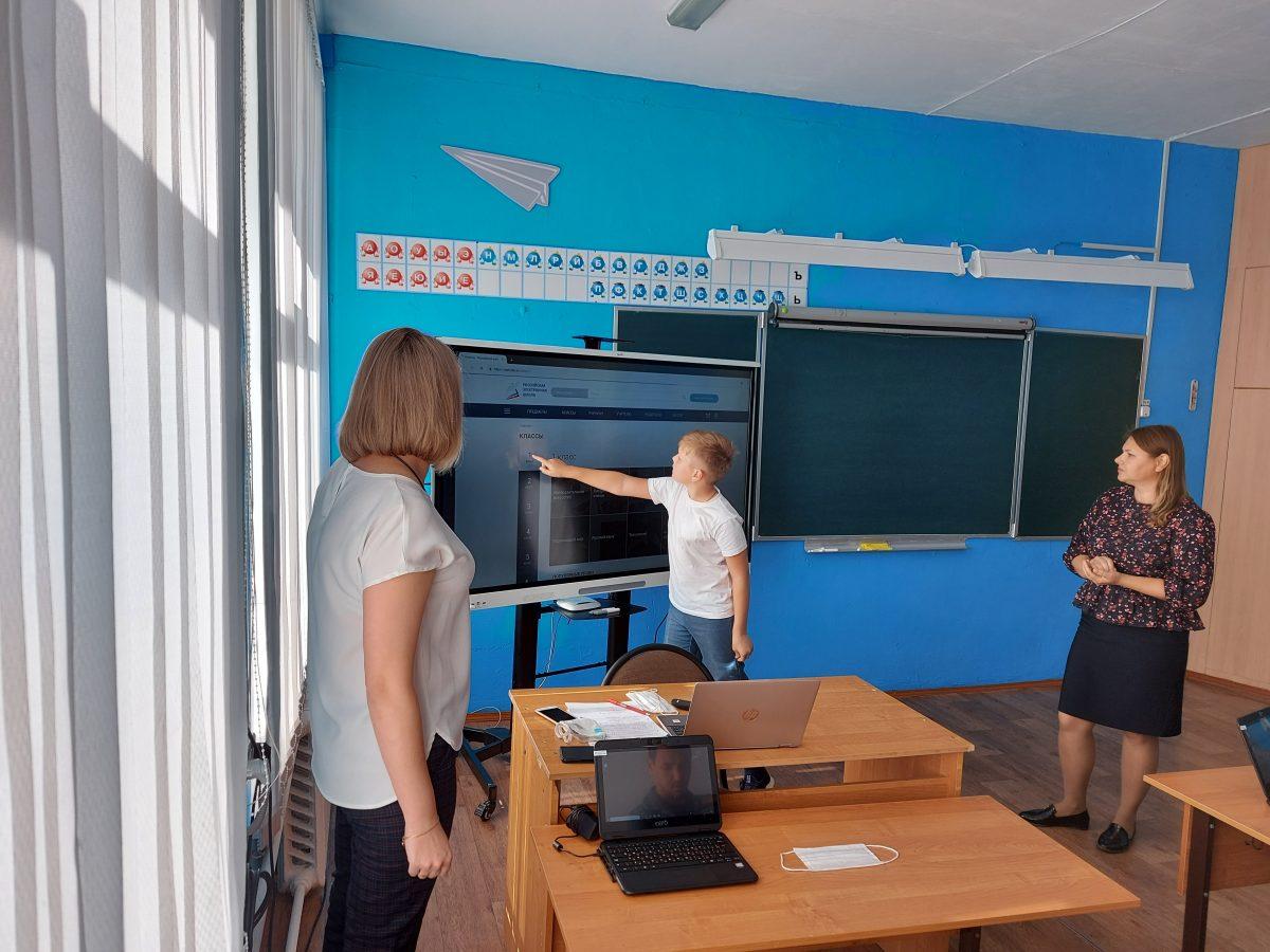 Цифровые классы появились варзамасских школах