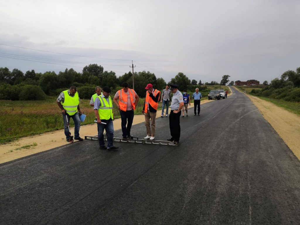 9км дороги отремонтировали наподъезде кселам Никитино иШагаево Починковского района врамках нацпроекта
