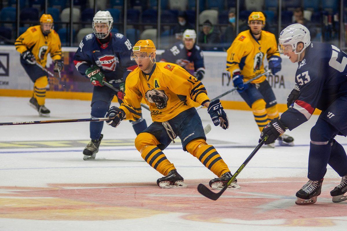 Нижегородская молодёжная хоккейная команда «Чайка» уступила сверстникам из Мытищ