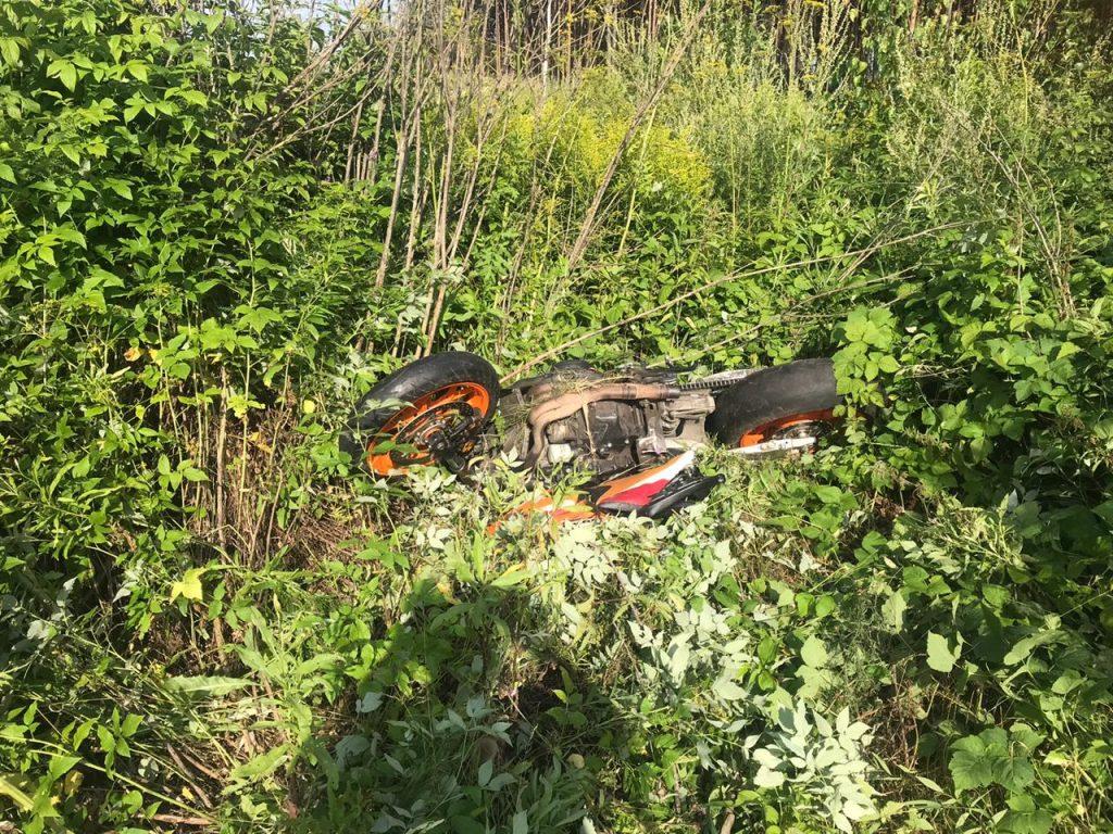 Мотоциклист погиб в ДТП под Нижним Новгородом