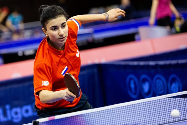 Нижегородская спортсменка выиграла турнир «Топ-12 России» по настольному теннису