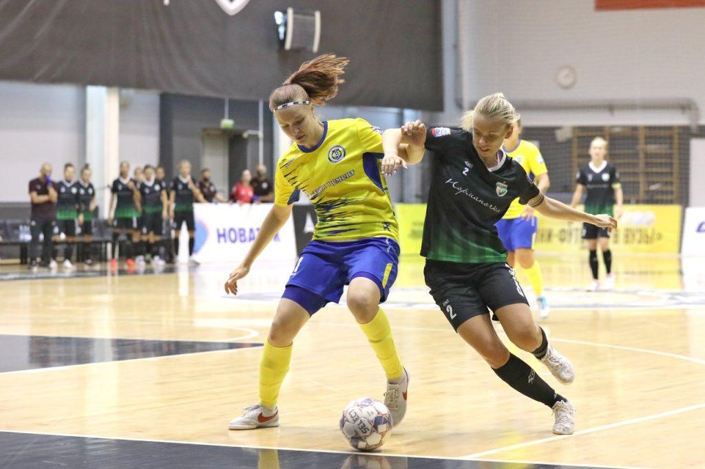 Мини-футбольная команда «Норманочка» сыграла вничью с призёром прошлого сезона