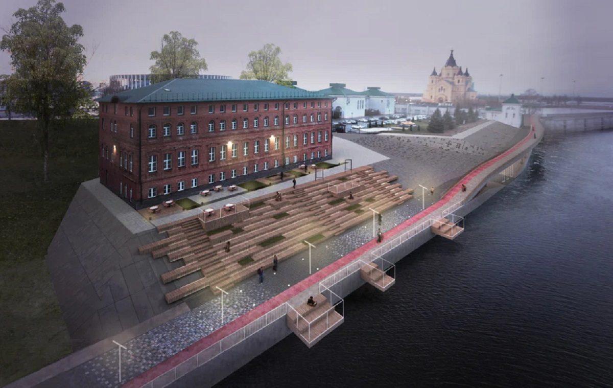 Из заброшенного места в пространство для прогулок: как преобразится Окская набережная в Нижнем Новгороде