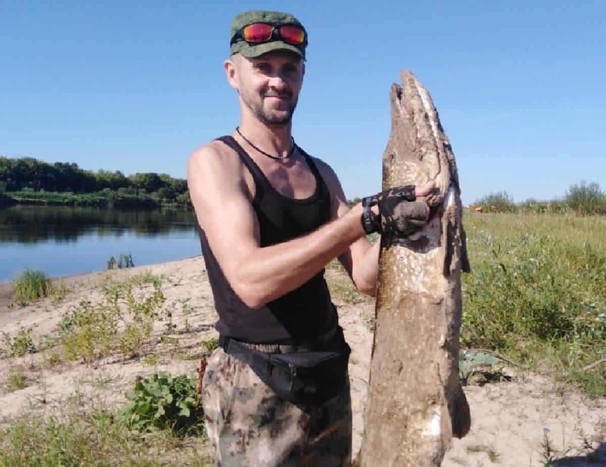 «Красавицу еле вытащил»: нижегородец поймал метровую щуку