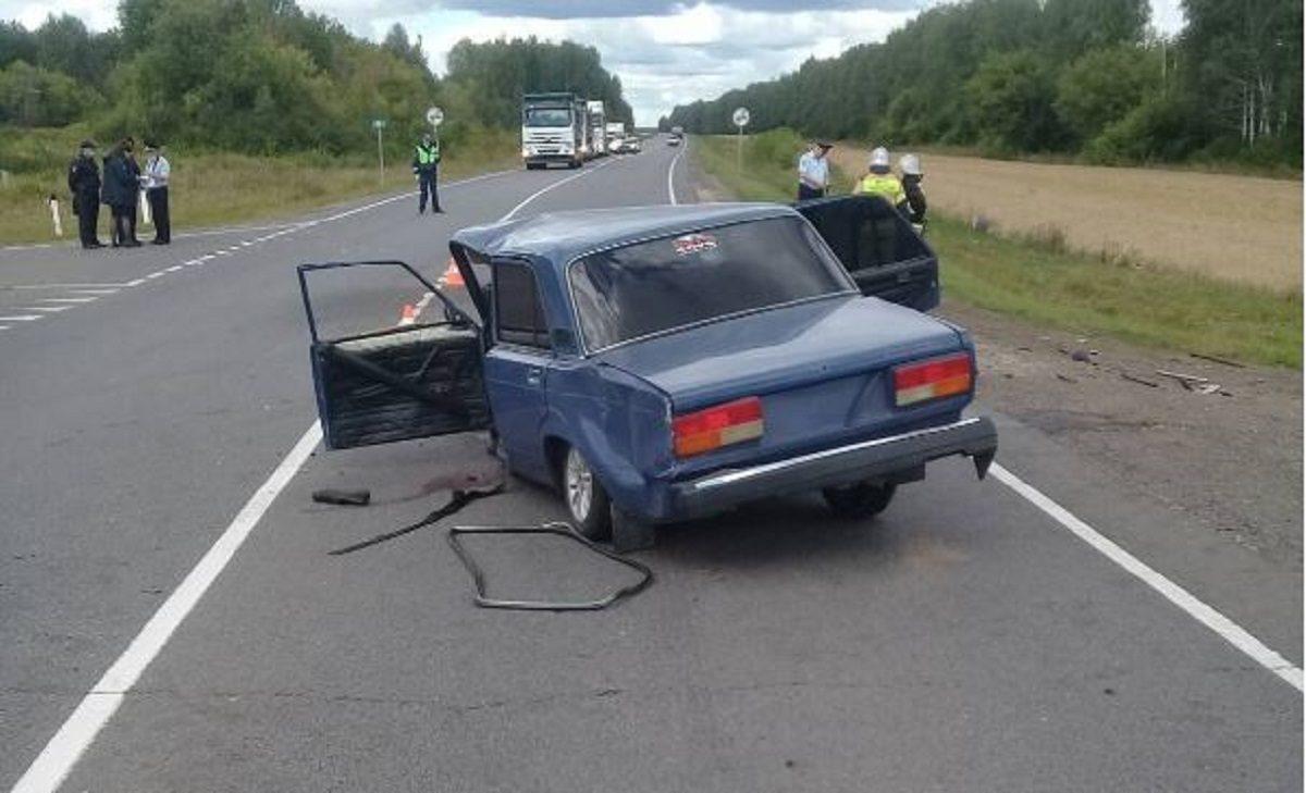 Два человека погибли в результате ДТП в Лукояновском районе