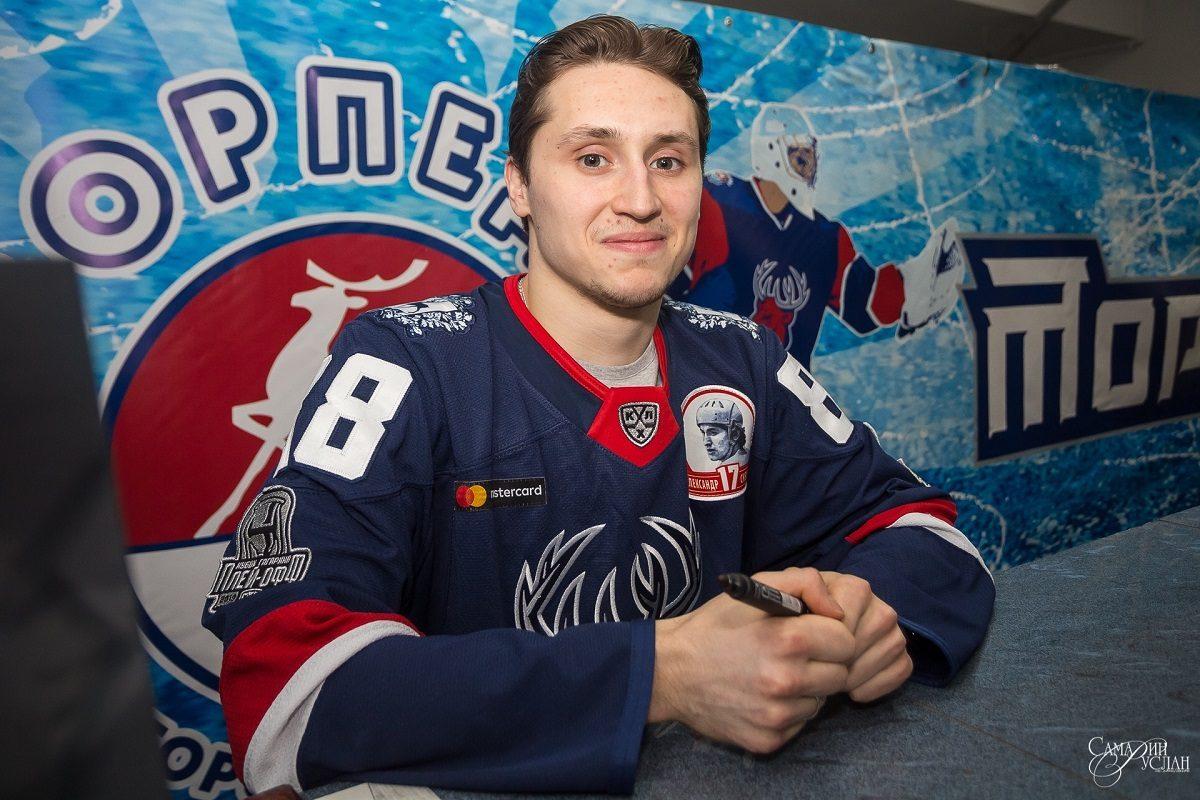 Нападающий Дамир Жафяров продолжит выступать за ХК «Торпедо»