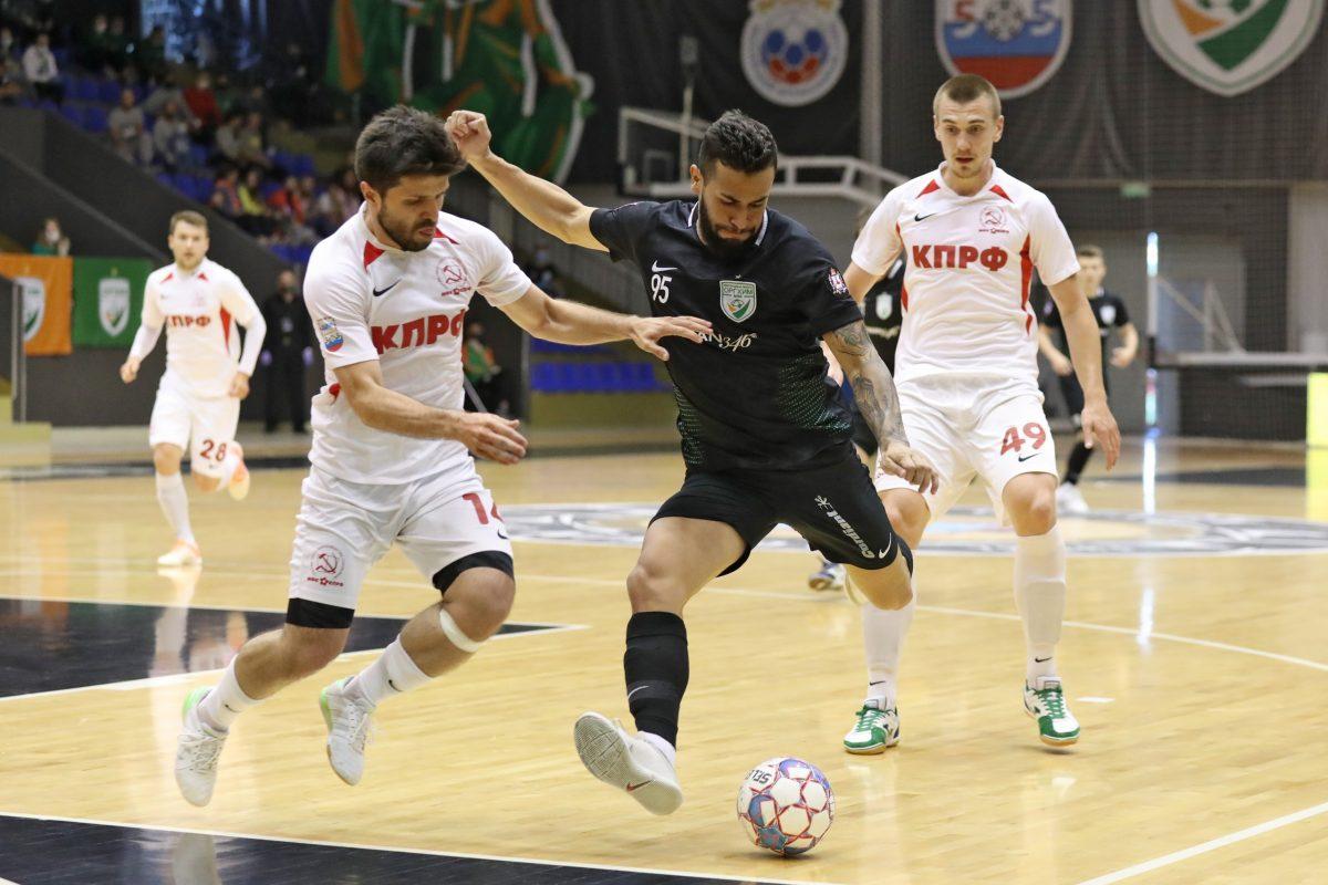 МФК «Оргхим» в одном шаге от победы в высшей лиге