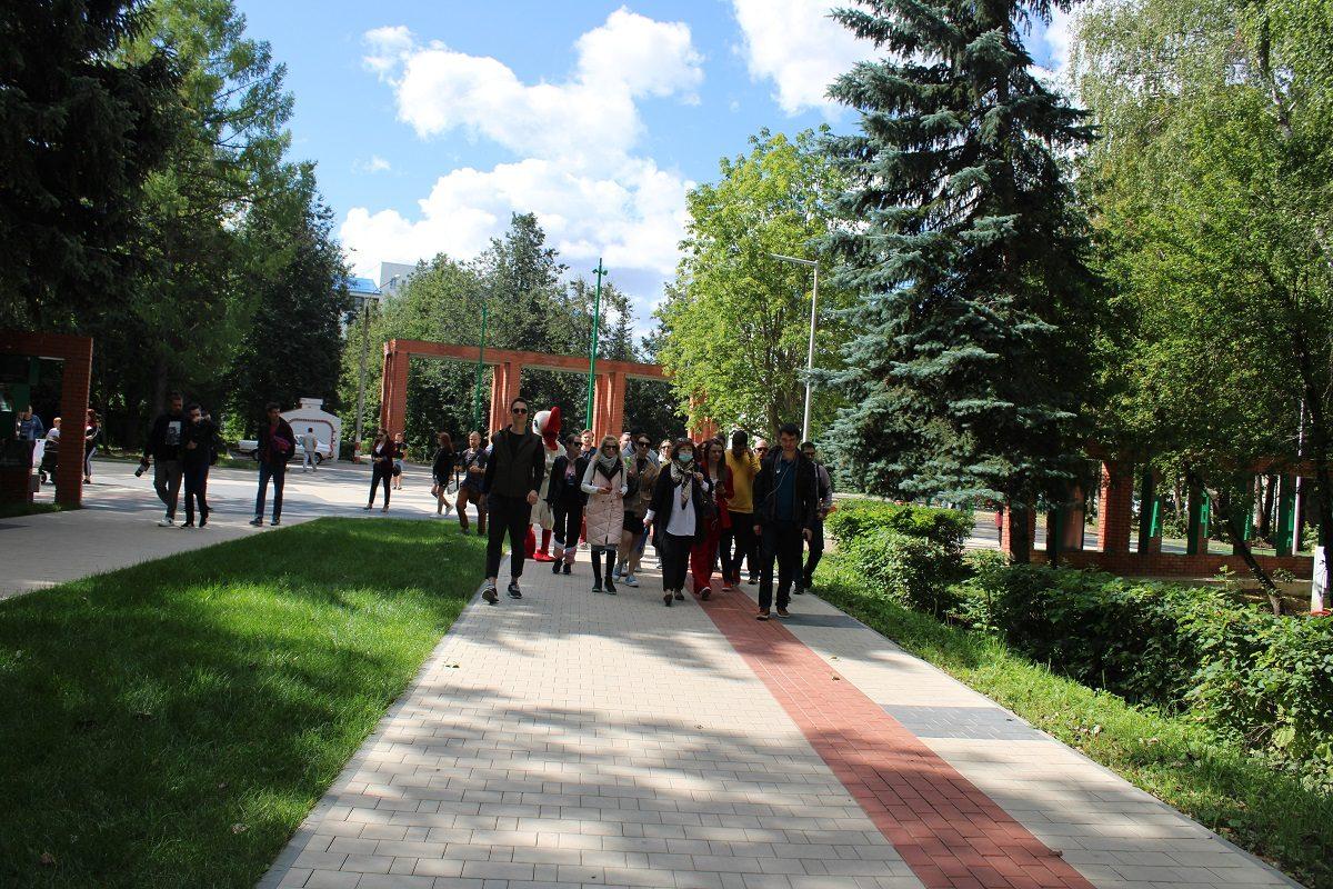 Российские архитекторы высоко оценили обновленный парк им.А.П. Гайдара вАрзамасе