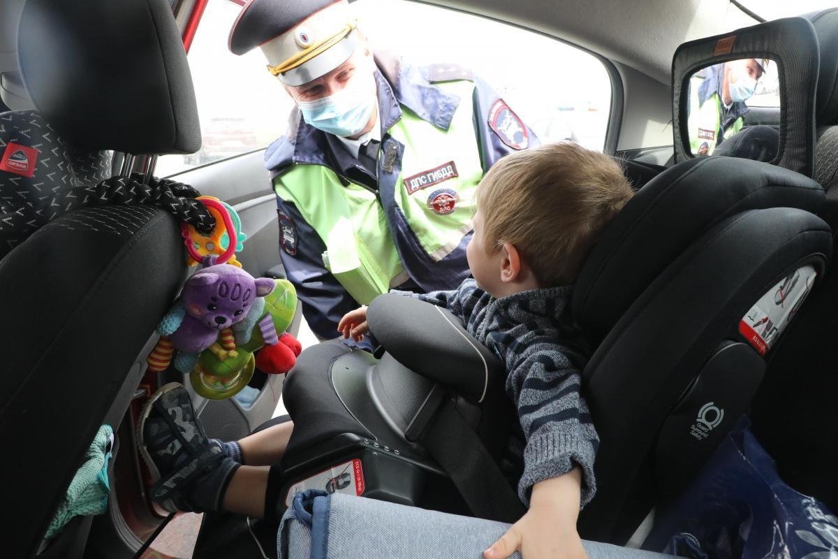 Жители Нижнего Новгорода стали чаще покупать детские автокресла