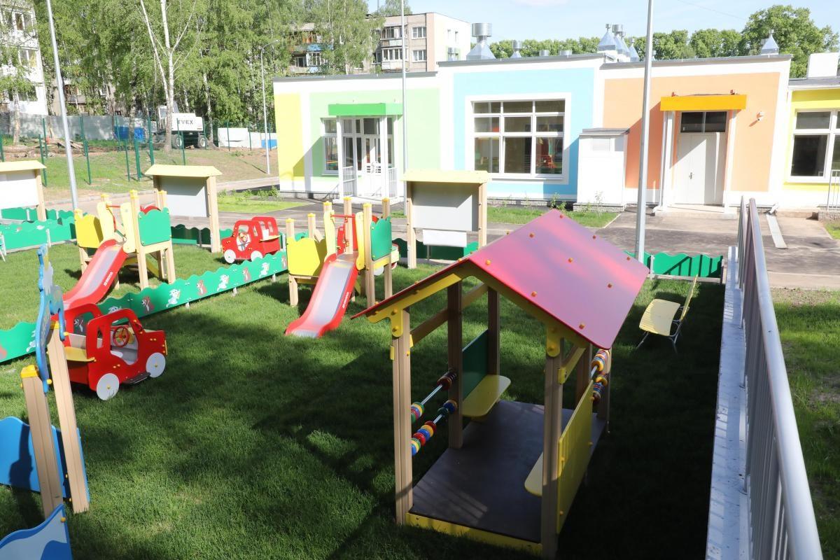 50 тысяч юных нижегородцев начали посещать детские сады