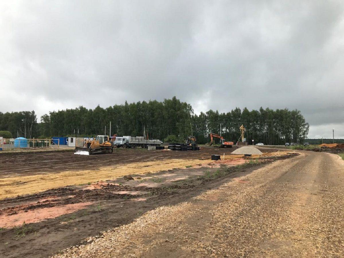 ВНижегородской области продолжаются работы построительству северо-восточного обхода Дивеева
