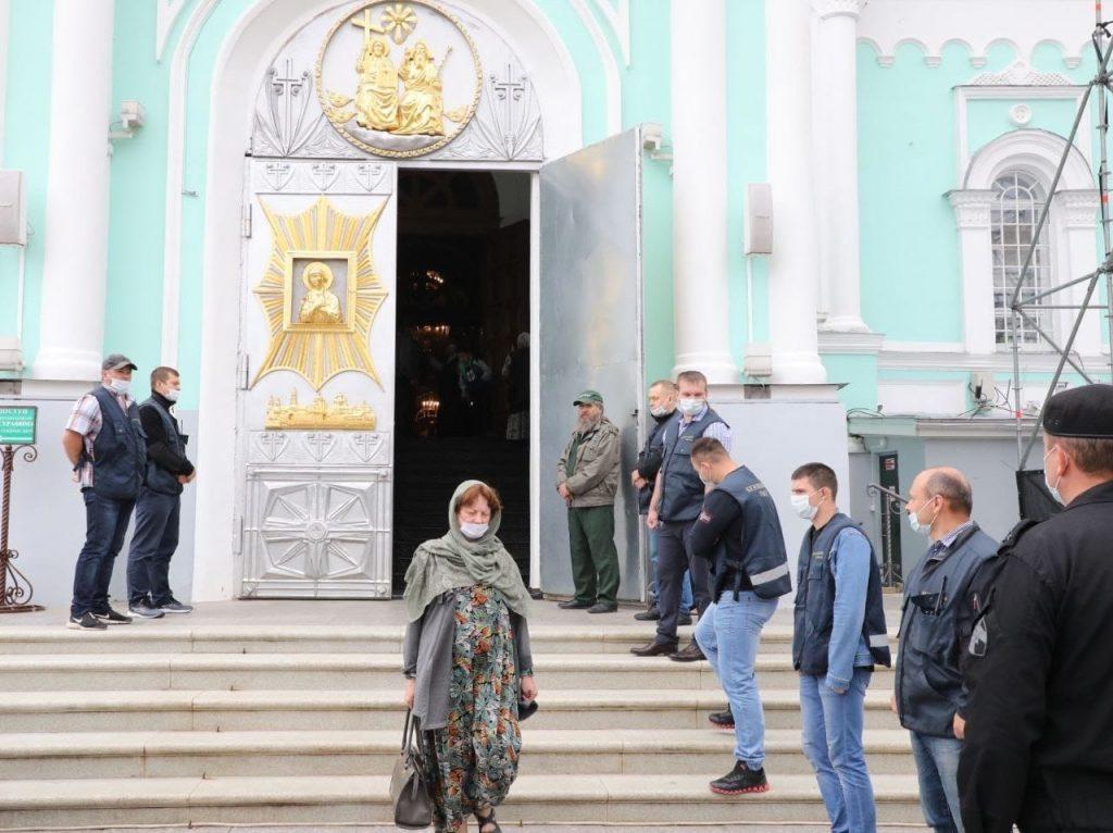 Торжества в честь Дней памяти Серафима Саровского: смотрим первые кадры из Дивеева