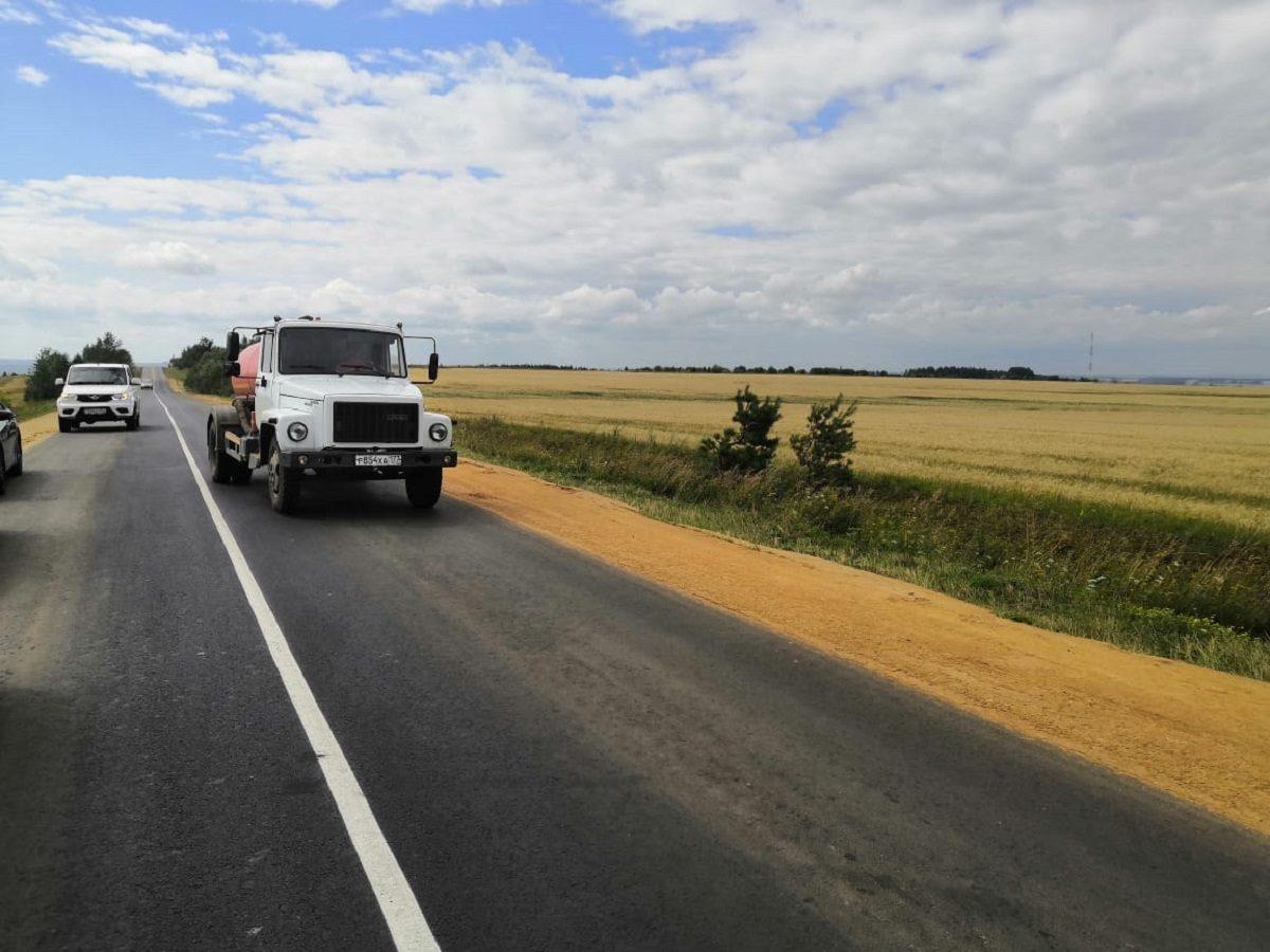 Награнице Нижегородской области иМордовии отремонтировали дорогу протяженностью 7,1км