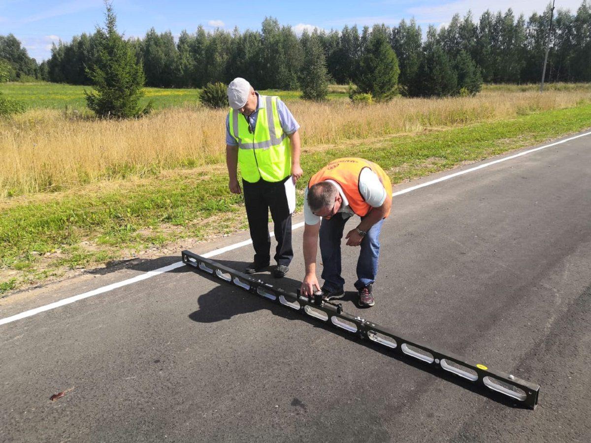 ВШарангском районе Нижегородской области врамках нацпроекта отремонтировали участок дороги награнице сМарий Эл