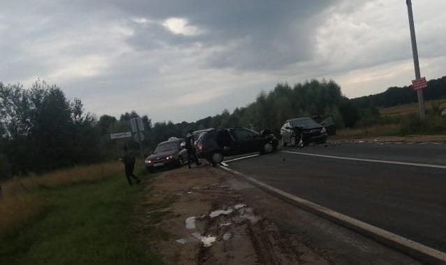 18-летний водитель выехал на встречку: 6 человек пострадали в ДТП в Павловском районе