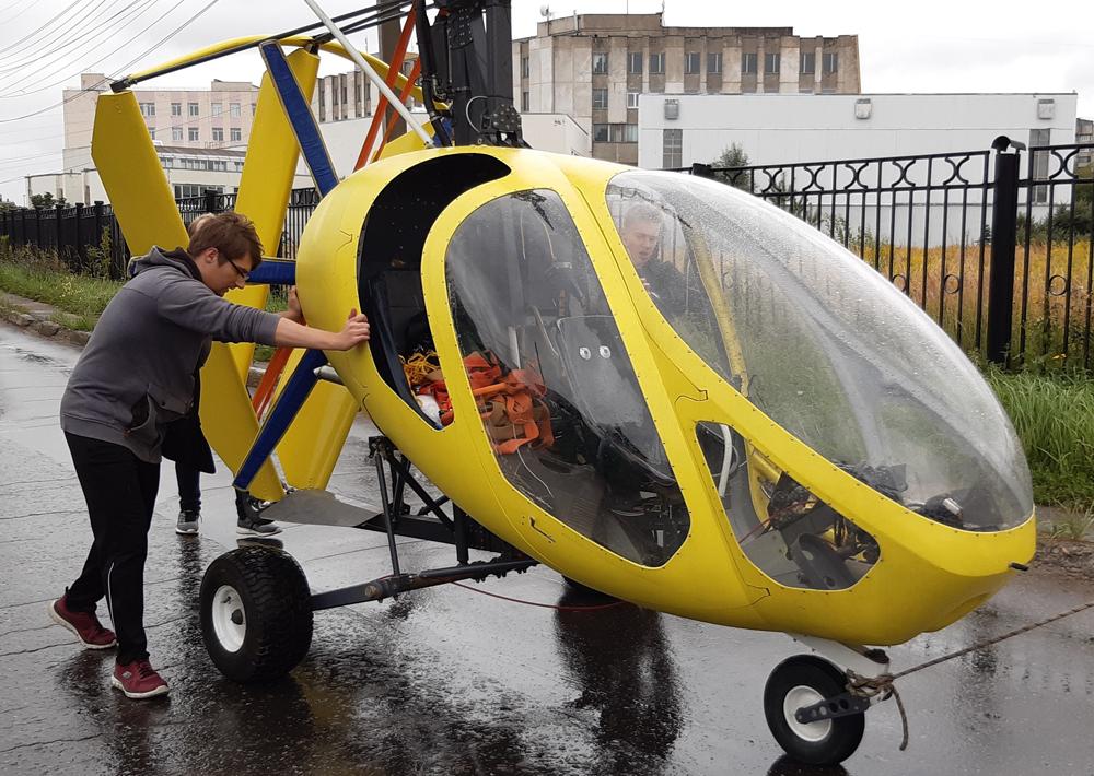 Нижегородские студенты модернизируют гироплан