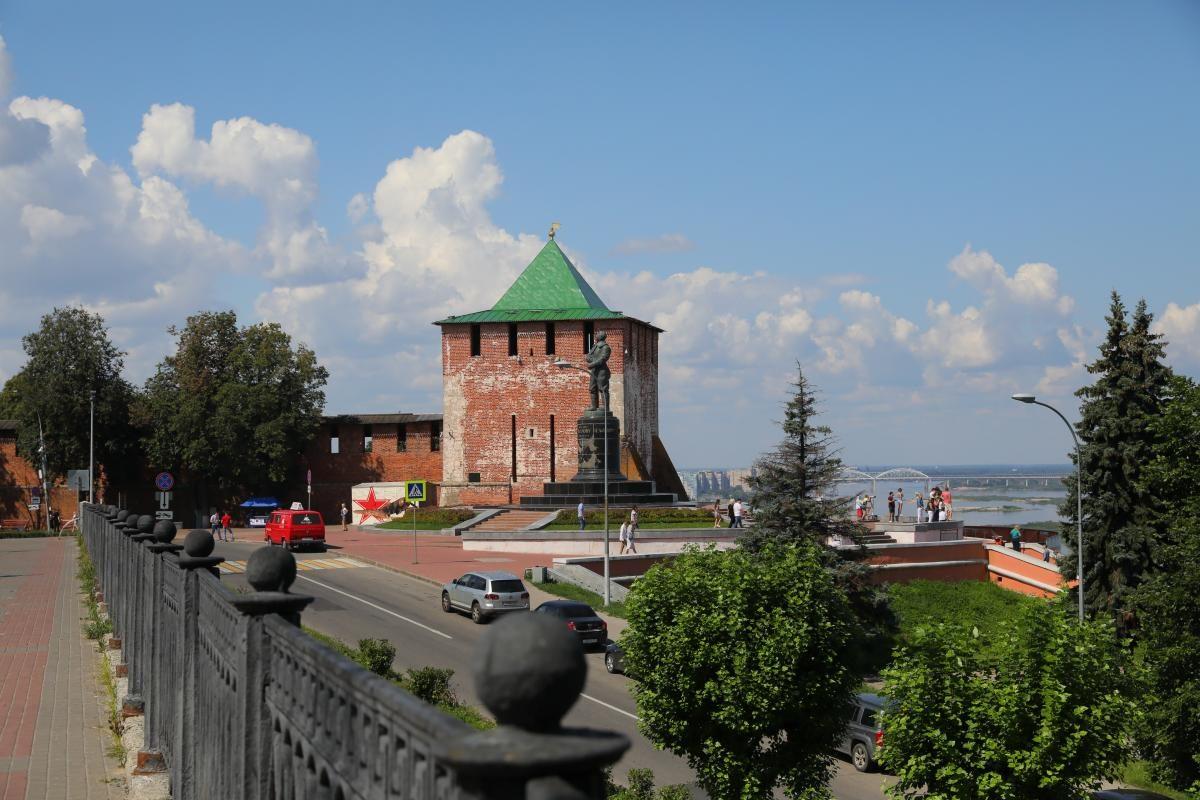 Нижегородский кремль благоустроят за 224 млн рублей к 800-летию города