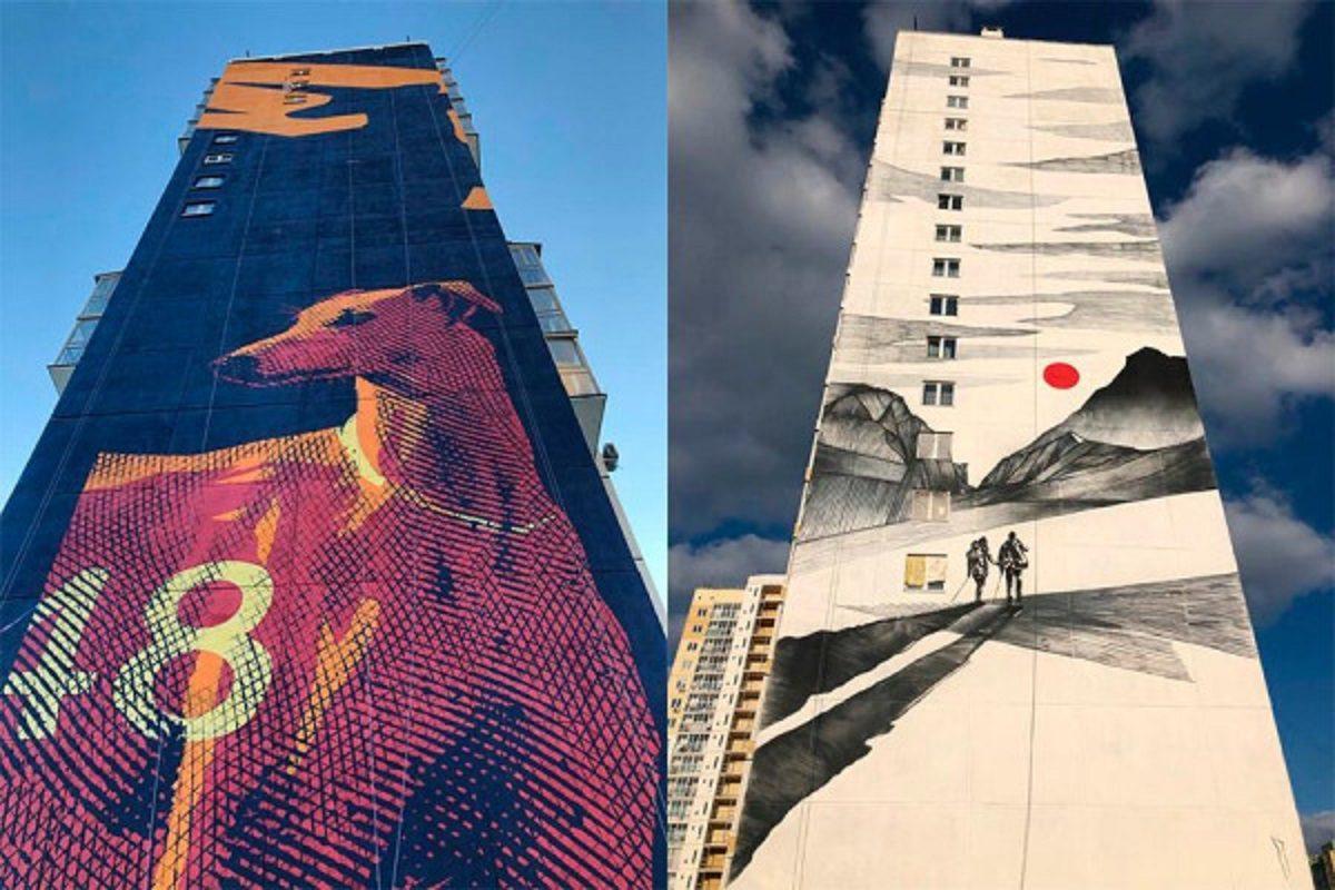 Нижегородские художники приняли участие в фестивале уличного искусства «Культурный код» в Челябинске
