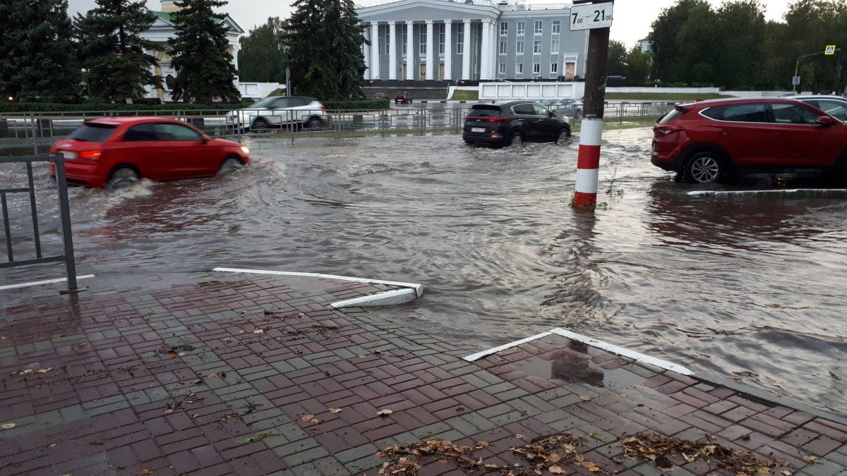 Дзержинск поплыл после дождя