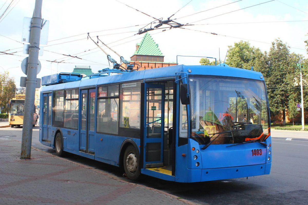 Девять переданных Москвой троллейбусов вышли на маршруты в Нижнем Новгороде
