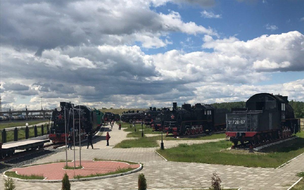 Музей «Паровозы России» в поселке Сортировочный возобновил работу