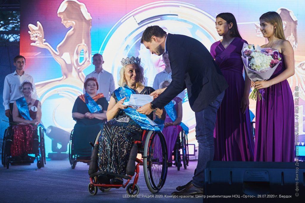 Нижегородка завоевала титул «ВицеЛеди Интеграция» на конкурсе красоты для женщин, передвигающихся на колясках