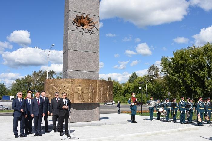 Памятник испытателям ядерного оружия открыт вСарове