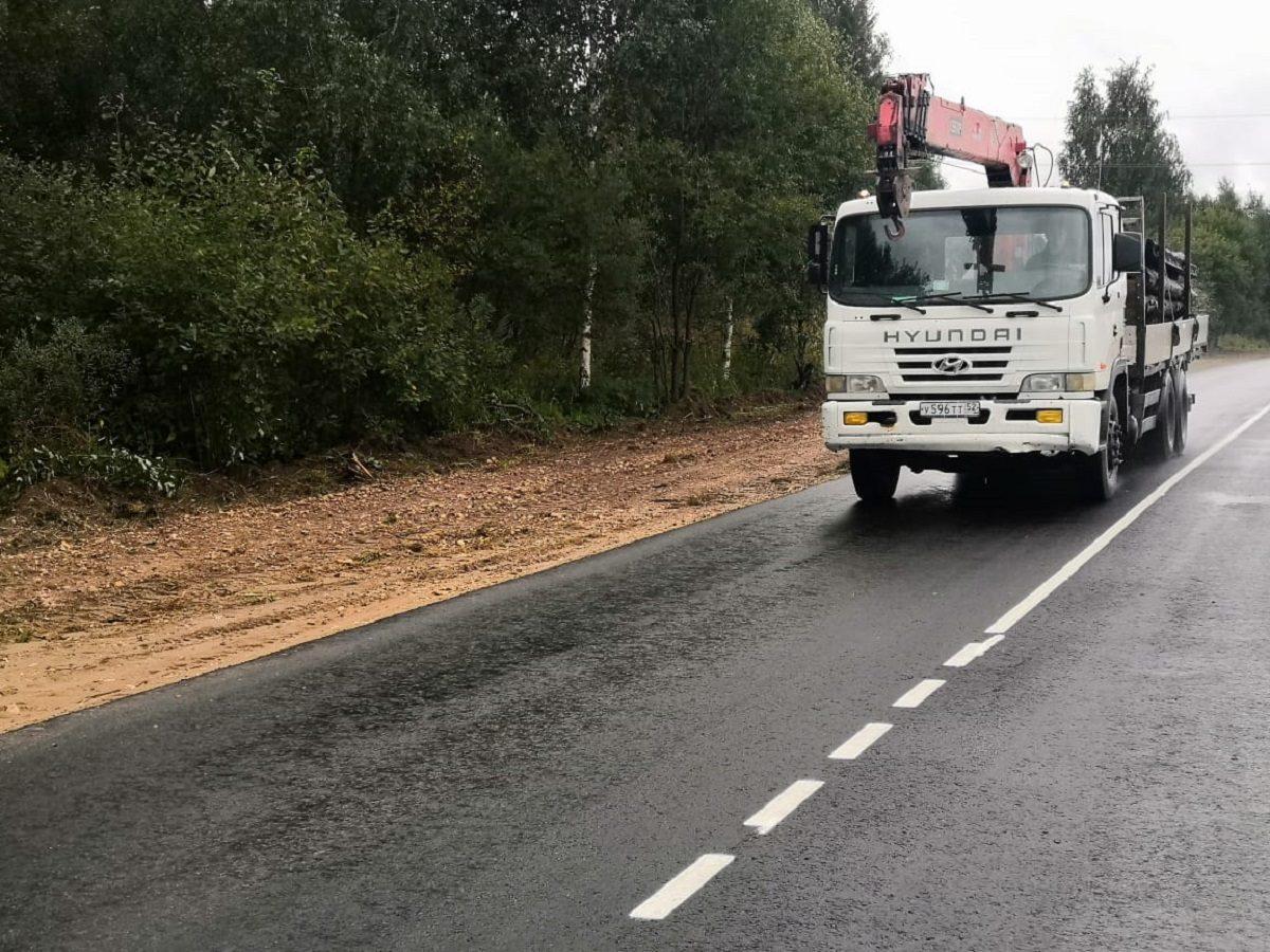 ВСеменовском районе отремонтировали участок дороги наКовернино врамках национального проекта