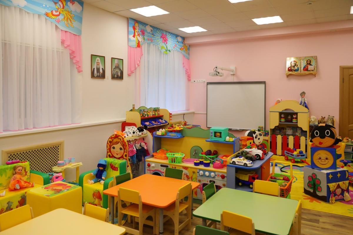 Православный детский сад открыли в Нижнем Новгороде: смотрим, как выглядит новое дошкольное учреждение