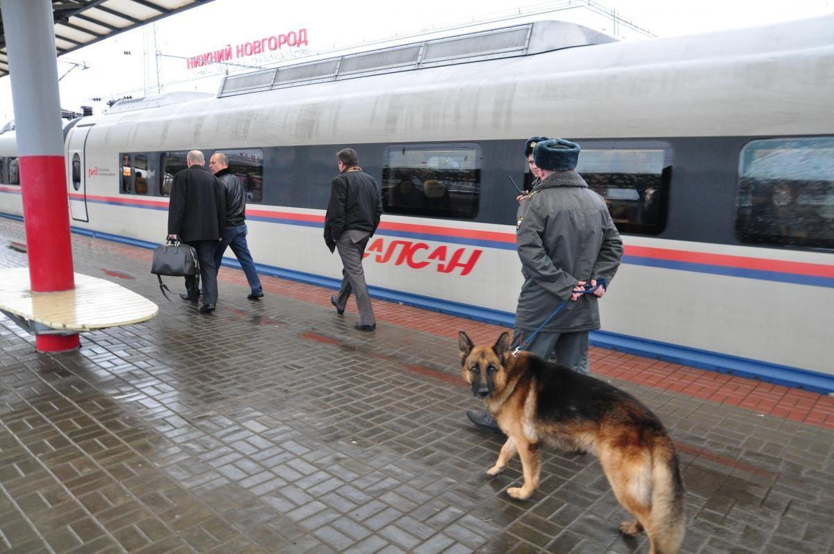 Пассажиру стало плохо в «Сапсане» в Нижнем Новгороде