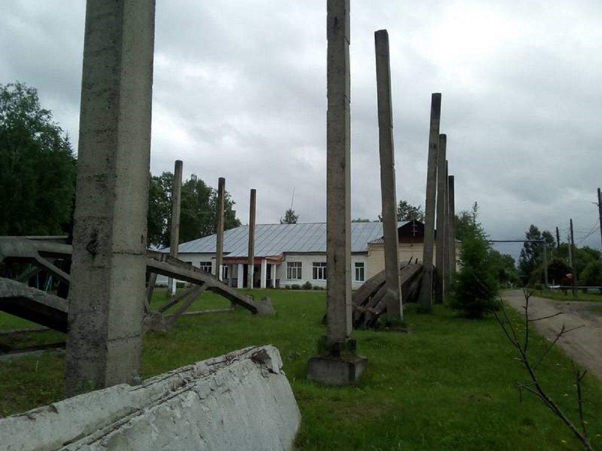 Ученики из Сосновского района рискуют жизнью по пути в школу