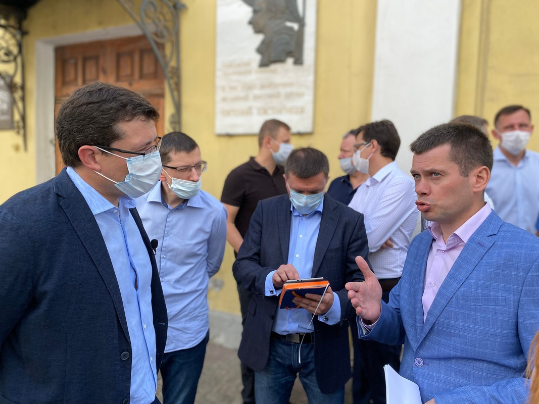 Глеб Никитин поручил определить перечень исторических домов для выделения субсидий наремонт