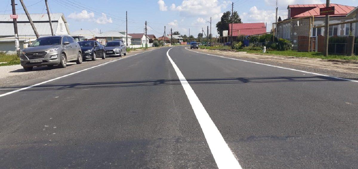Подъезд крабочему поселку Вача отремонтировали врамках нацпроекта «Безопасные икачественные автомобильные дороги»