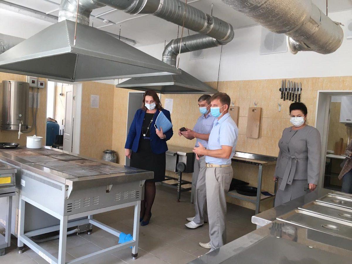 ВВачской средней школе капитально отремонтированы два корпуса