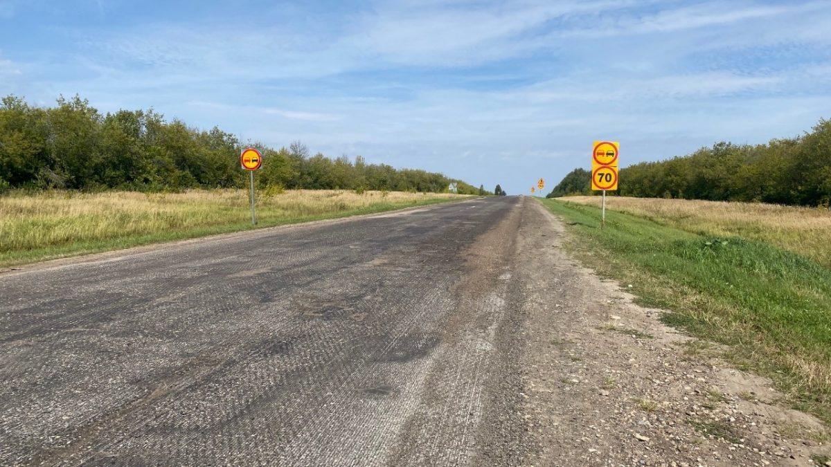 Участок дороги Воротынец-Спасское-Сергач вНижегородской области приведут внормативное состояние врамках нацпроекта