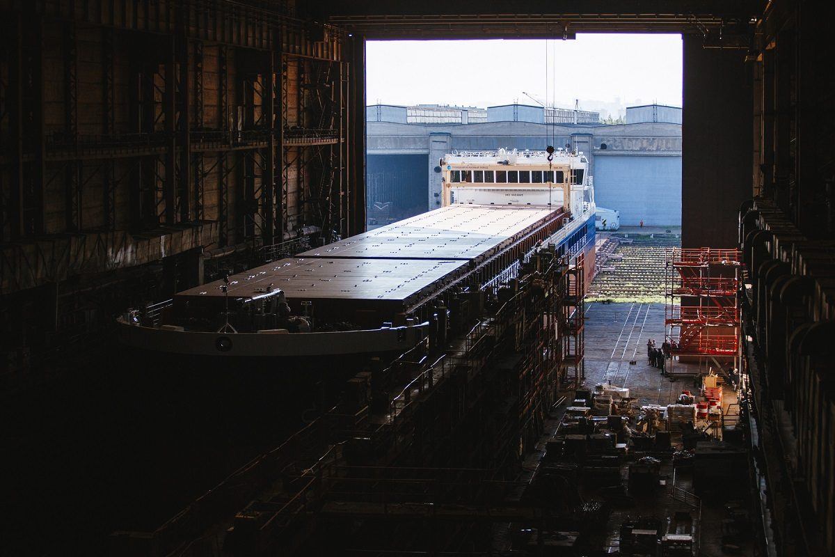 Судостроительный завод «Красное Сормово» приступает к спуску на воду новой серии сухогрузов