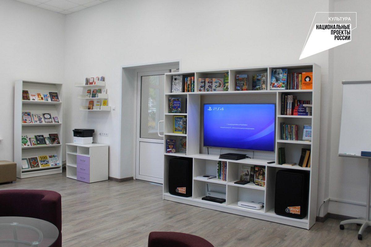 Библиотека нового формата открылась вЧкаловске врамках нацпроекта «Культура»