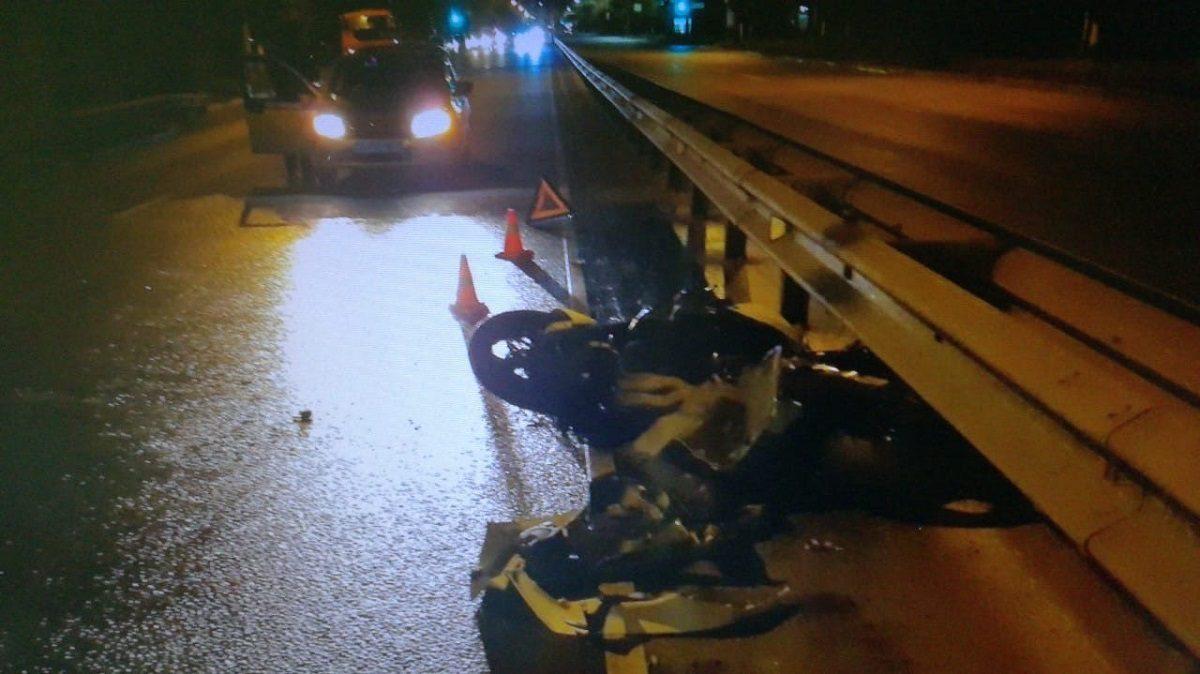 Мотоциклист сбил насмерть пешехода в Московском районе