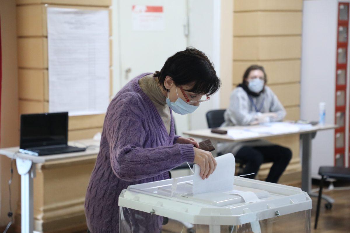 Явка избирателей на 10:00 составила 10,38%