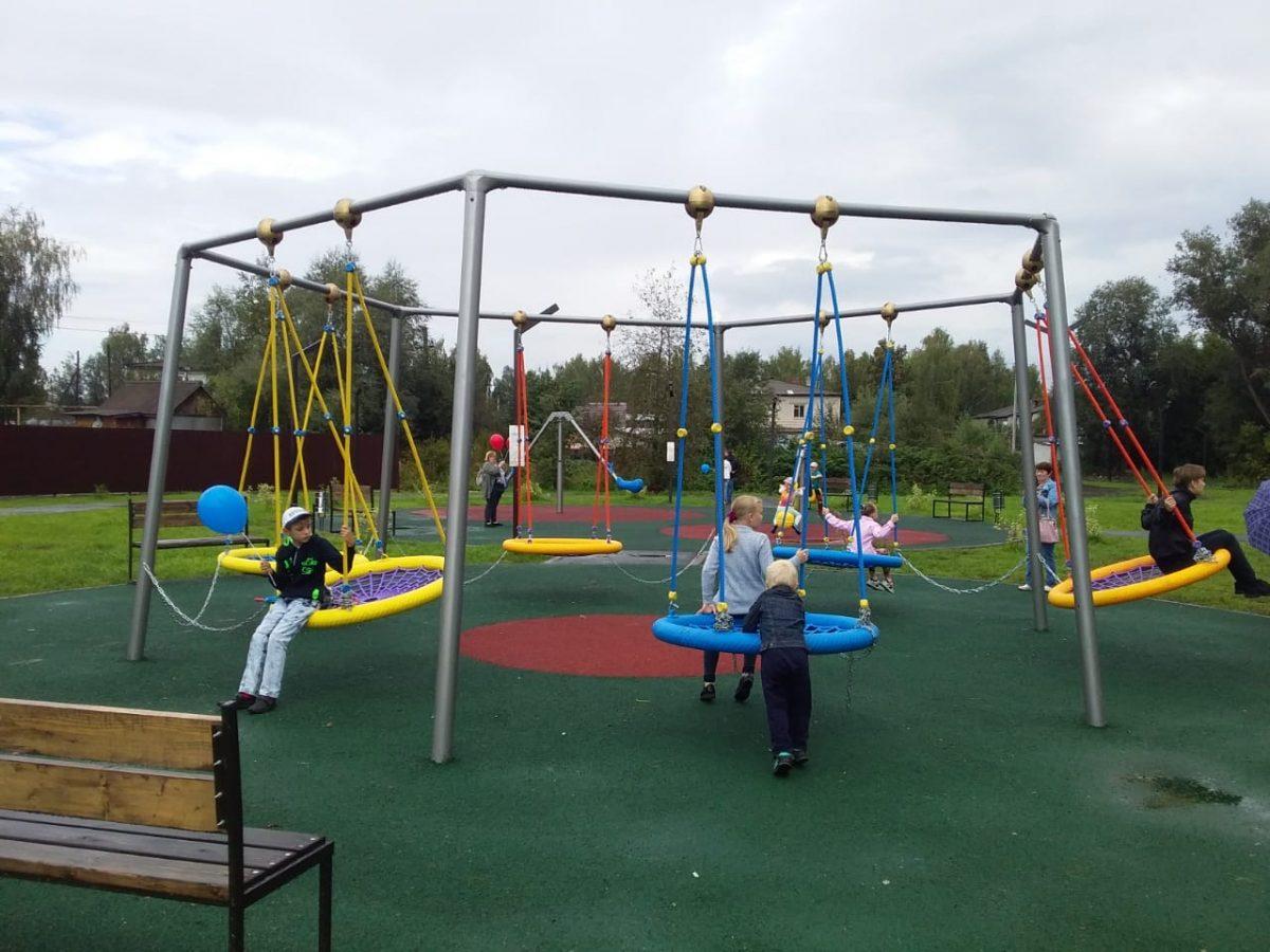 Благоустройство 74 общественных пространств и74 дворов завершилось вНижегородской области